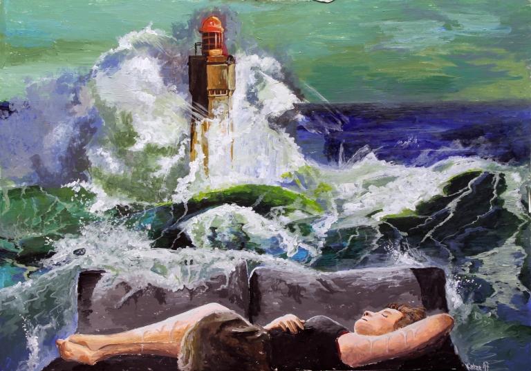 Kintze17_A girl dreams of the Sea